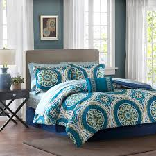 Bed In A Bag Sets Full by Asha Printed Paisley Comforter Set By Mizone Hayneedle