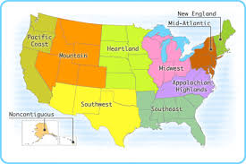 map us states regions united states geography regions us history ii geography cities