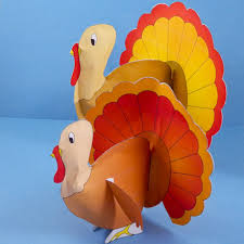 how to make a turkey out of a pine cone how to make stuffed paper turkeys 3d paper crafts s