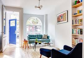 Small Row House Interior Design