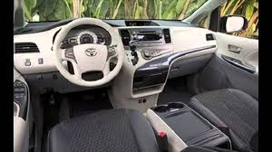 toyota sienna toyota sienna 2016 car specifications and features interior