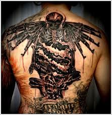 body badass cross tattoos for guys design idea for men and women
