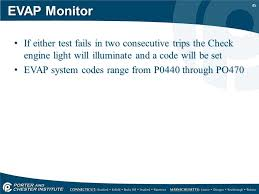 evap system check engine light evap system testing using a smoke machine ppt video online download