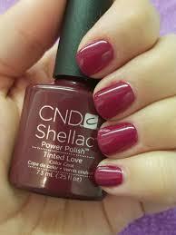 cnd shellac tinted love nail designs pinterest cnd shellac