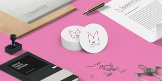 pink martini logo thoughtplate identity design for martini developers london