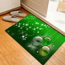green w16 inch l24 inch christmas balls pattern anti skid water