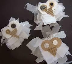 snowy owls winter craft for kids small hands big art