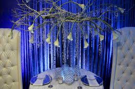 Blue Christmas Wedding Decorations by November 2012 Wedding Shows Blog