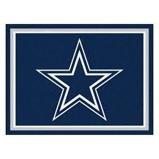 Area Rug 8 X 10 Dallas Cowboys 1 4