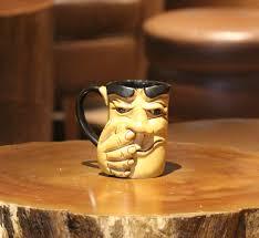 buy coffee mugs online india weird wolf ceramic coffee mug 1 pcs 500 ml buy online at best