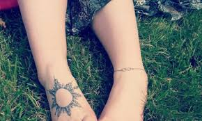 100 cute small tattoo designs for girls feet small foot tattoos
