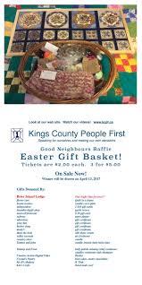 easter gift basket raffle 2017 u2013 people first kings county