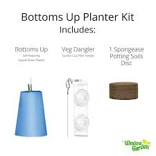 bottoms up planter kit u2014 windowgarden