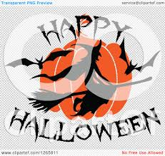 halloween bat no background clipart of a happy halloween trick or treat bat witch and pumpkin