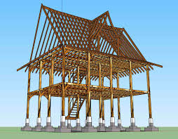 Hybrid Timber Frame Floor Plans Timber Framing Hybrid South Asian Timber Frame House In West