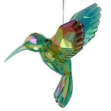 acrylic hummingbird ornament u2013 robert moore u0026 co christmas town