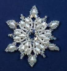 52 best beaded snowflake ornament patterns images on