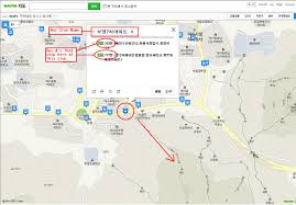 How To Use A Map How To Use Naver Map Klimbing Korean Mountains
