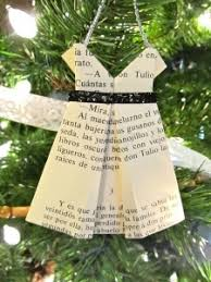 86 best ornaments made from book pages images on