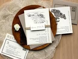 Winery Wedding Invitations Rustic Wedding Invitations Burlap Wedding Invitations Winery