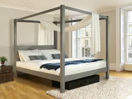 Four Post Bed by Wooden Canopy Bed Four Poster Bed Summer By Get Laid Beds