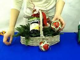 christmas wine gift baskets how to make christmas wine gift basket