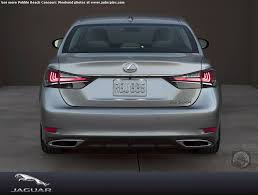 lexus gs model year changes pebble beach one more thing u2014 lexus rolls out the 2016 gs track