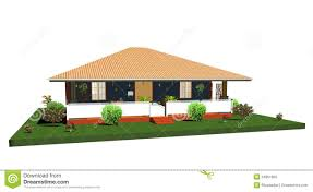 bungalow style house style house clipart