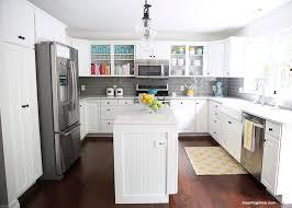 Modern Kitchens With White Cabinets Kitchen Modern Ideas Cabinets Splashback Wood Big Kitchens