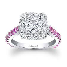colored engagement rings barkev s pink sapphire engagement ring 7939lps
