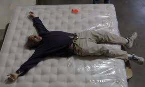 mcroskey mattress jumping is serious work sfgate