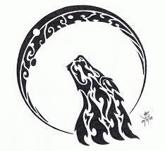 43 tribal moon tattoos