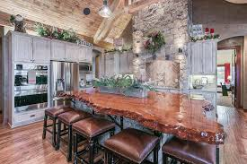 Rustic Kitchen Countertops by Rustic Kitchen Countertops Redwood Burl Inc