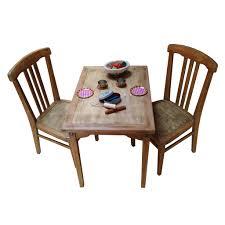chaise de table de cuisine ensemble table et chaises enfant rétro boutique