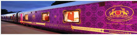golden chariot luxury train of south india