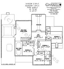 Colonial Style Floor Plans by Telfair House Plan House Plans By Garrell Associates Inc