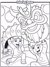 chinese dragon coloring coloring pages kids