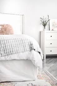 White Bedroom Tour Bedroom Tour U2013 Katherine In Manhattan Nyc Based Style Blog