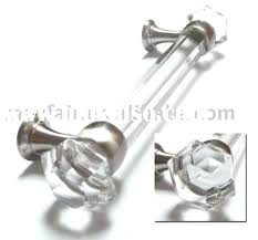 glass cabinet pulls handles glass cabinet handles 5 sparkly glass drawer pull handles silver