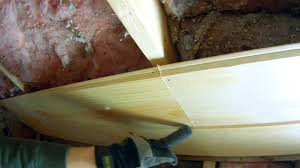 Tongue And Groove Roof Sheathing by How To Install Tongue And Groove Pine On The Ceiling Youtube