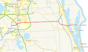 Map East Coast Florida by Florida State Road 528 Wikipedia