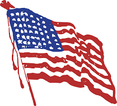 Why Is The American Flag Red White And Blue Red White Blue Clipart