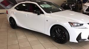 lexus of bridgewater com 2017 lexus is 300 f sport blackout package youtube