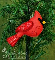 new backyard bird ornament clarence the cardinal stuffed animal