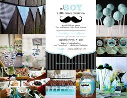 Elegant Baby Shower by Mustache Baby Shower Table Decorations Baby Shower Diy