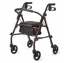 Transport Walker Chair Walker With Seat Ebay