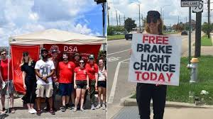 why do police touch the tail light the democratic socialists are here to fix your brake lights vice