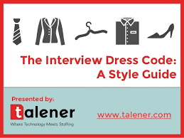 interview dress code a style guide