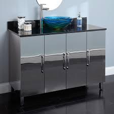 elite home decor stainless vessel sinks bathroom astounding images inspirations