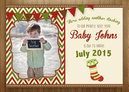 christmas card announcing pregnancy christmas lights decoration